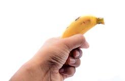 Rijpe banaan royalty-vrije stock foto's