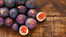 Rijpe fig. Royalty-vrije Stock Foto