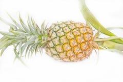 Rijpe geïsoleerde ananas Stock Fotografie