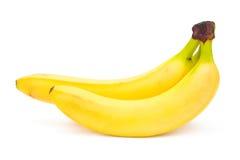 Rijpe gele bananen stock foto