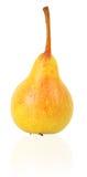 Rijpe gele peer Stock Afbeeldingen