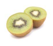 Rijpe geïsoleerde kiwifruit Royalty-vrije Stock Fotografie