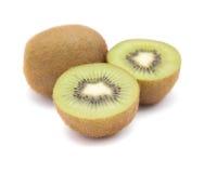 Rijpe geïsoleerde kiwifruit Royalty-vrije Stock Afbeeldingen