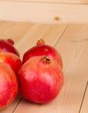Rijpe granaatappel Stock Foto