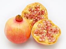 Rijpe granaatappelvruchten Royalty-vrije Stock Afbeeldingen
