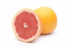Rijpe grapefruits Royalty-vrije Stock Afbeeldingen