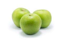 Rijpe groene appel Stock Fotografie
