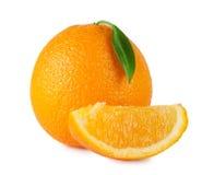 Rijpe heldere sinaasappel Royalty-vrije Stock Afbeelding