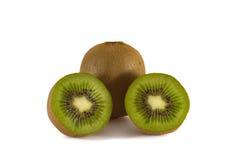 Rijpe kiwi met halfs Royalty-vrije Stock Fotografie