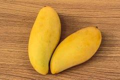 Rijpe mango's Royalty-vrije Stock Afbeelding