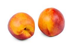 Rijpe nectarines Stock Foto's