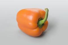 Rijpe oranje peper Royalty-vrije Stock Foto