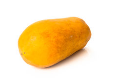 Rijpe papaja Royalty-vrije Stock Afbeelding