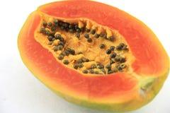 Rijpe papaja Stock Fotografie