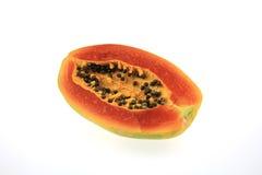 Rijpe papaja Stock Foto's