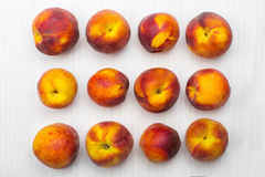 Rijpe perziken Stock Afbeelding
