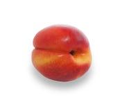 Rijpe rood-gele nectarine Royalty-vrije Stock Foto