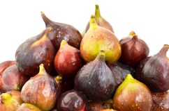 Rijpe sappige fig. Stock Foto's