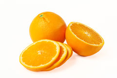 Rijpe sinaasappel Royalty-vrije Stock Foto's