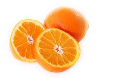 Rijpe sinaasappelen Stock Afbeelding