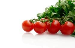 Rijpe Tomaten royalty-vrije stock foto's