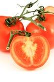 Rijpe tomaten Royalty-vrije Stock Afbeeldingen