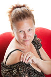 Rijpe Vrouw Royalty-vrije Stock Foto