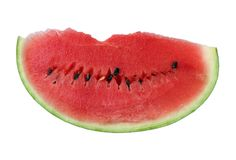 Rijpe watermeloen Royalty-vrije Stock Foto's