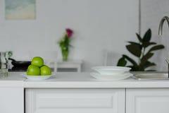 rijpe yummy appelen royalty-vrije stock afbeelding