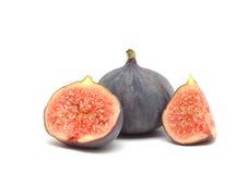 Rijpe zoete fig. Stock Afbeeldingen