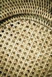 Rijs geweven patroon voor achtergrond of textuur Royalty-vrije Stock Foto