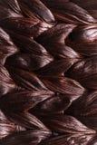 Rijs geweven patroonachtergrond Royalty-vrije Stock Afbeelding