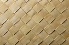 Rijs Geweven Textuur Royalty-vrije Stock Foto