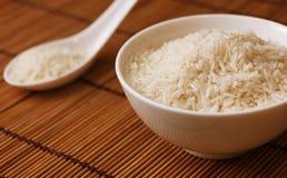 Rijst in een kom Royalty-vrije Stock Fotografie