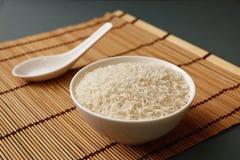 Rijst in een Kom 3 Stock Afbeelding