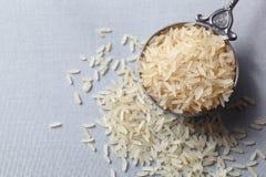 Rijst in een lepel Royalty-vrije Stock Foto