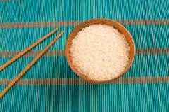 Rijst en eetstokjes royalty-vrije stock fotografie