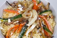 Rijst en peper Stock Foto