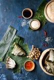 Rijst piramidal bollen stock fotografie