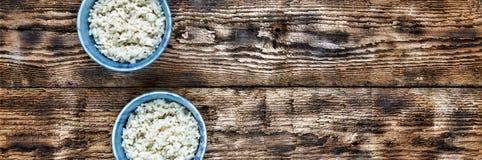 Rijst Traditioneel authentiek Indisch en Aziatisch voedsel Royalty-vrije Stock Afbeeldingen