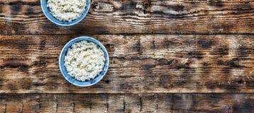 Rijst Traditioneel authentiek Indisch en Aziatisch voedsel Stock Afbeelding