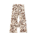 Rijstkorrel die een alfabetbrief A vormen Stock Foto