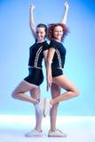 Rijtjes gymnastiek Royalty-vrije Stock Foto