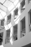 Rijtjeshuisarchitectuur royalty-vrije stock afbeeldingen