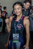 """Rika Ishige """"Tiny Doll† av Thailand i en mästerskap royaltyfri bild"""