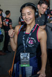 "Rika Ishige ""Tiny Doll"" of Thailand in One Championship. Royalty Free Stock Image"