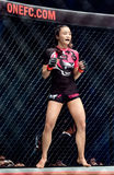 "Rika Ishige ""Tiny Doll"" of Thailand in One Championship. Stock Image"