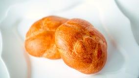 Rika rullar, bageriprodukter Arkivbilder