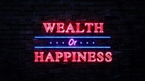 Rikedom- eller lyckaneontecken