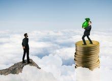 Rikedom, pengar och finans Arkivfoton